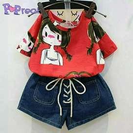 stelan red girl kids