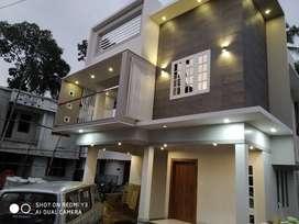 New contemporary house for sale near Kunnapuzha Jn