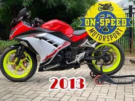 CASH CREDIT jual motor moge kawasaki ninja 250 fi SE ABS 2013 low km