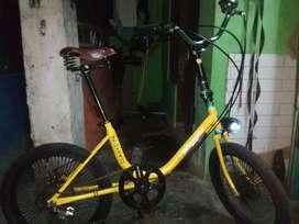 Sepeda minion bike