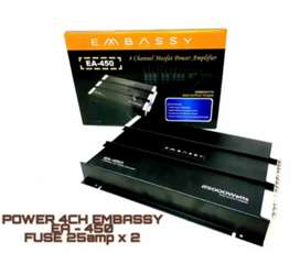 Power 4 channel Embassy 450