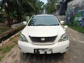 Toyota HARRIER 240 G 2008/2009 AT matic mobil bagus nian