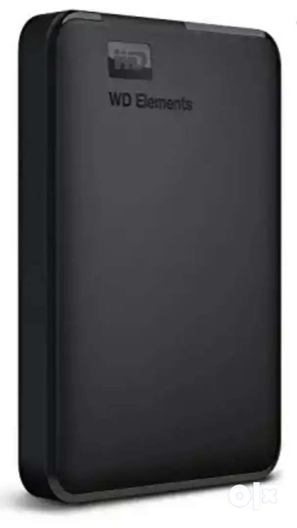 Wd element 1 tb external hard disk new