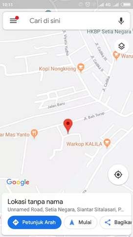 Dijual 604m2 tanah SHM Harga Murah Rp.180juta