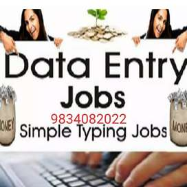 If you need any type of Home based data entry works, Call me.