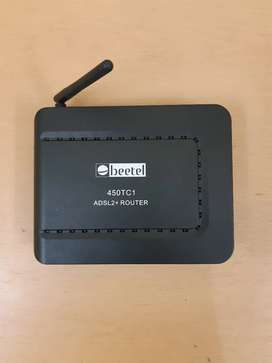 BEETEL ADSL2+ROUTER(like new condition)