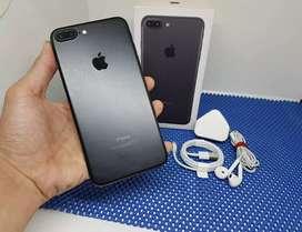IPhone 7 Plus 256Gb BlackMatte Lengkap Normal