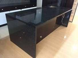 Instalasi top table meja granit dan marmer