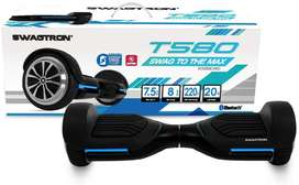 Swagtron App-Enabled Bluetooth Hoverboard w/Speaker Smart Self-Balanci