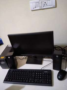 Desktop fully assembled wid Epson printer,2months old bill included