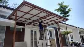 Kanopi Pintu Pagar Balkon Reling Tangga Galvanis dan Stainlees