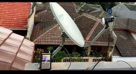 SIARAN TELEVISI DIGITAL PARABOLA MINI FREE BULANAN KENJERAN SBYA