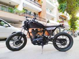 Bullet 350cc Royal Enfield fully customized