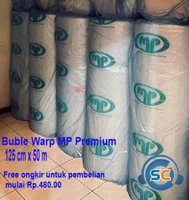 Bubble Warp ukuran 125cm x 50m Premium MP clear