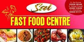Fast food chef chahiye momo samosa chawmeen banane wala banda chahiye