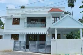 5.75cent land 2850sqr ft 5bhk 5 bath attached new house at Varapuzha