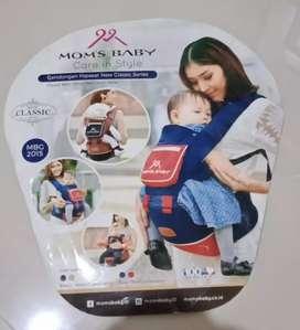 Hipseat gendongan bayi bahan kw1