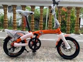 "Sepeda lipat Exotic 2026 SB BL VT Uk 20"""