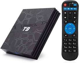 T9 4/32 android smart tv box 9.0 4k