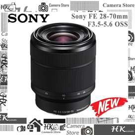 Sony FE 28-70mm F3.5-5.6 OSS  E-Mount Lens - NEW Nobox