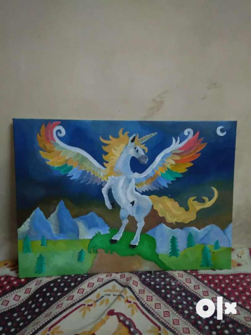 Handmade oil painting  Price - 1800rs 0