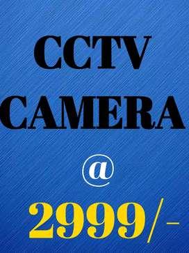 CCTV CAMERA @ 2999/-