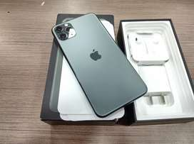 iPhone 11 pro max 256gb Green Brand new condition / 100% / Unused kit