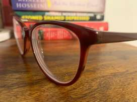 Maroon Spectacles