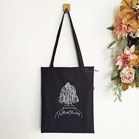 Tote Bag Whatever [Hitam]