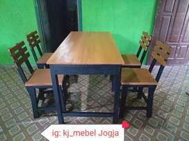 meja dan kursi new promo