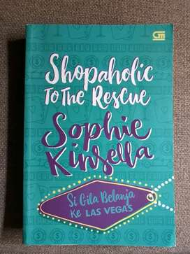 Novel Shopaholic to the rescue - sophie kinsella