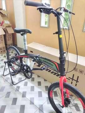 Dijual Kondisi Baru Sepeda Lipat ukuran 20in Bonus botol minum