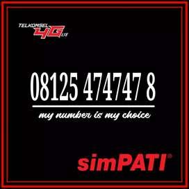 Simpati cantik kartu perdana telkomsel as 474747 # 747474 # 78