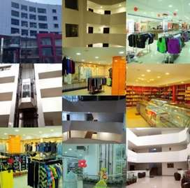 Supermarket + Furnished Apartments + restaurant