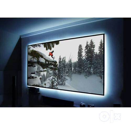 Suvira Fixed Frame Screens, 110-inches 16:9, Active 3D - 4K Ultra HD 0