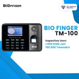 Jual Mesin Absensi Fingerprint Di Malang Murah Bio Finger TM-100