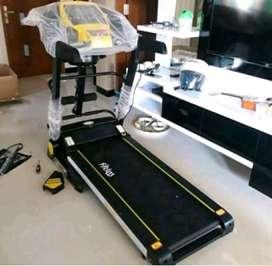 Langsung Kirim//Motorized Treadmill 4 Fungsi Autoincline(Ready)