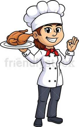 Female Cook Required in Home for Family