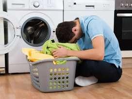 Washing zone