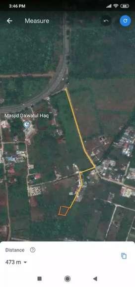 Tanah SHM Jl. Sawang 673m2