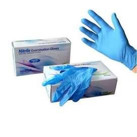 sarung tangan karet nitril
