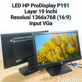 LED Monitor HP ProDisplay P191 Layar 19 Inchi Wide