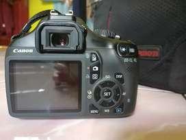 Kamera Canon 1100d dan lensa Canon 55-250mm