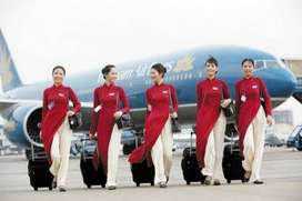 Apply for the post of Ground staff in Airlines..