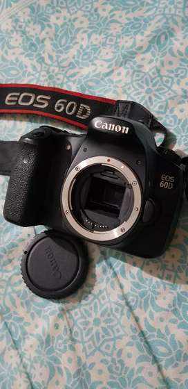 Canon 60D with 50mm lens