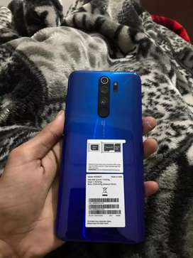 Redmi Note 8 Pro6,+64. 1 month old good condition