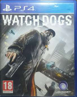 Watch dogs game of ps4 for sale in best price