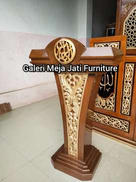 Mimbar masjid podium E496 talk
