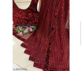 sequence saree with blouse price 1500 cod available