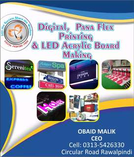 LED 3D Sign Board, LED penal Board